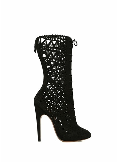 Alaia Çizme Siyah